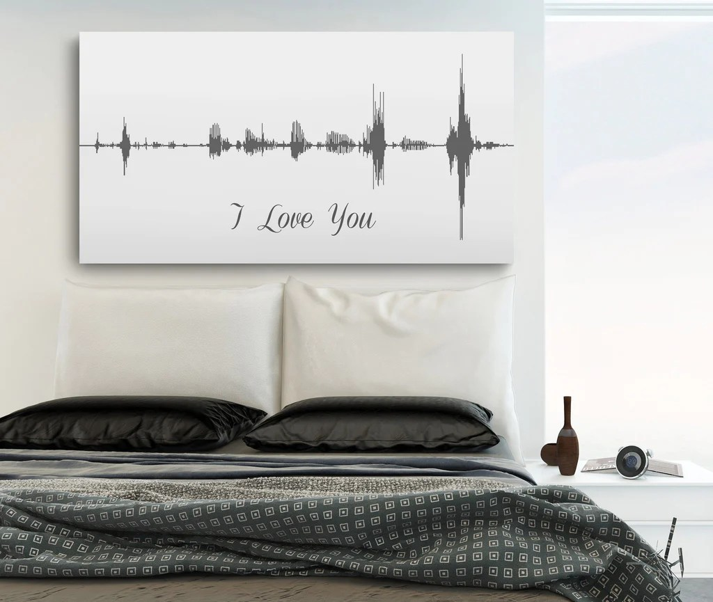 Metal Wall Art Signs Custom Sound Wave - Year of Clean Water
