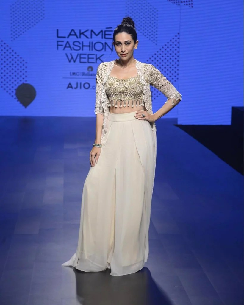 Image result for karishma kapoor lakme fashion week 2017