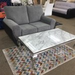Louis Grey Marble Coffee Table