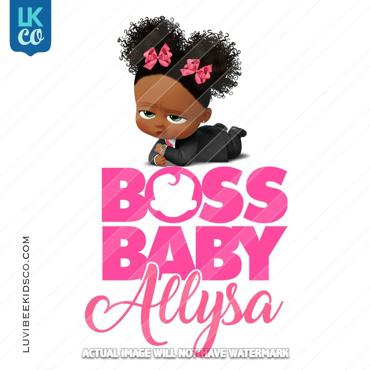 boss baby iron on