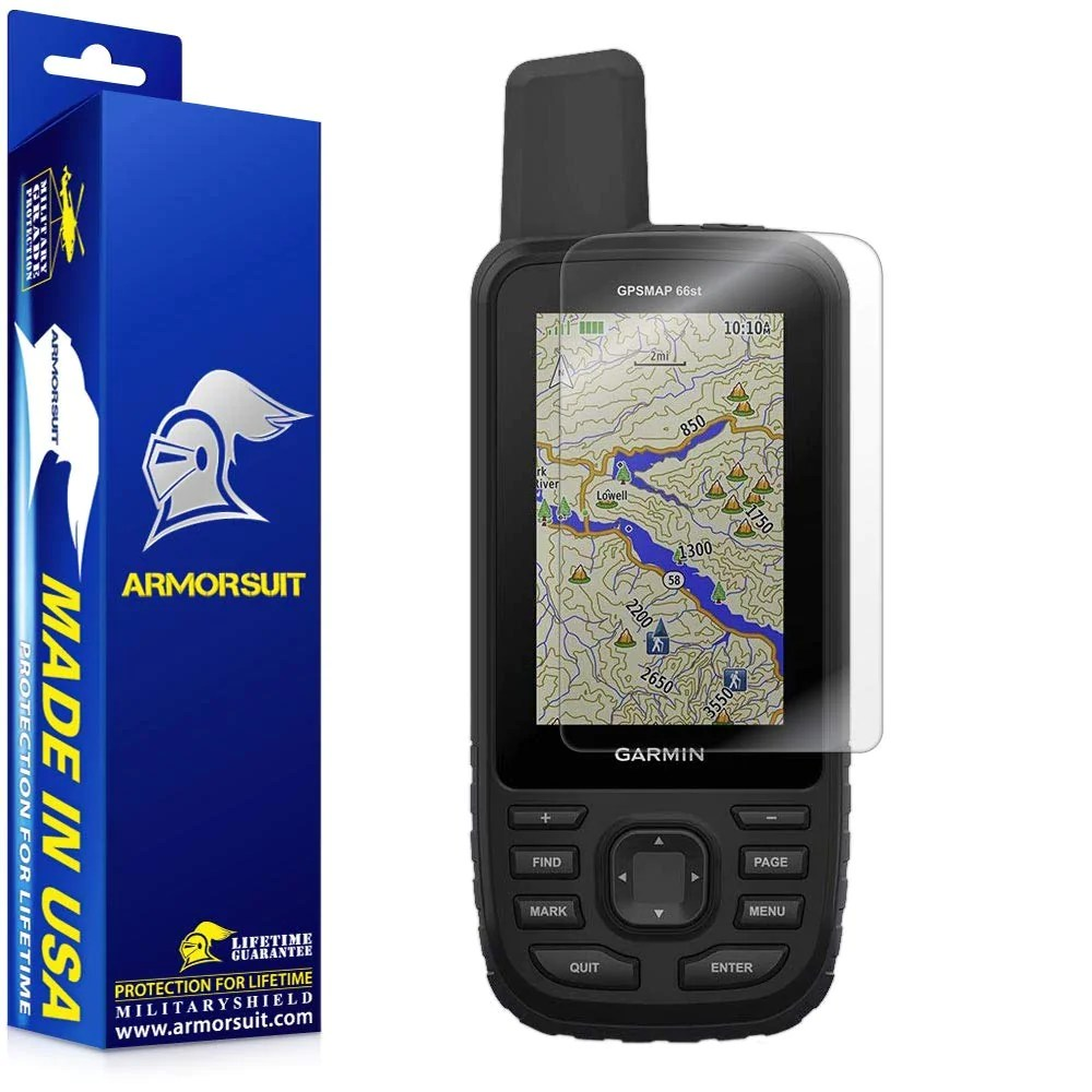 Garmin Gpsmap 66s 66st Screen Protector Armorsuit