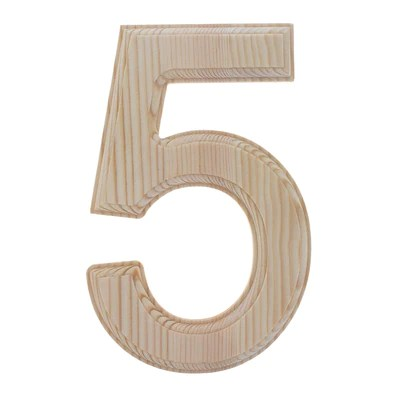 unfinished wooden numbers bestpysanky