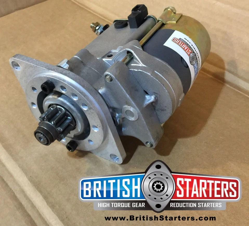medium resolution of amphicar high torque gear reduction starter