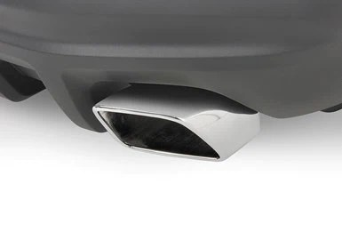 mustang exhaust with square tips and rear valance 2011 2012