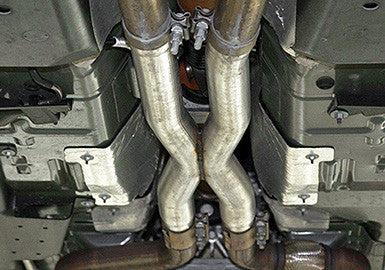 2015 2017 mustang gt 5 0l coyote v8 resonator delete x pipe