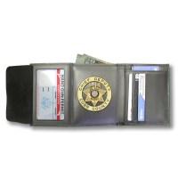 M105 Custom Cut Badge Wallet  MaxArmory