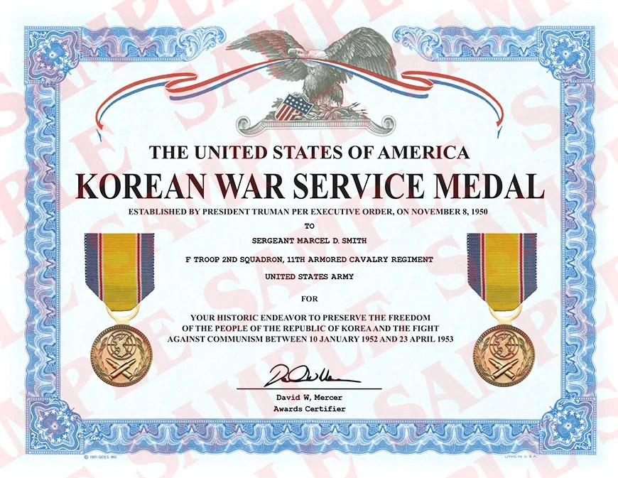 Challenge Korean War Coin