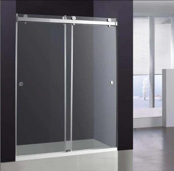 Double Sliding Glass Shower Door  Broadway Vanities