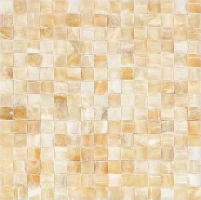 honey onyx mosaic 3d small bread