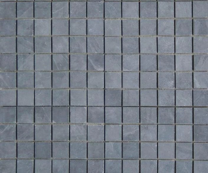 montauk black slate mosaic 2 x 2