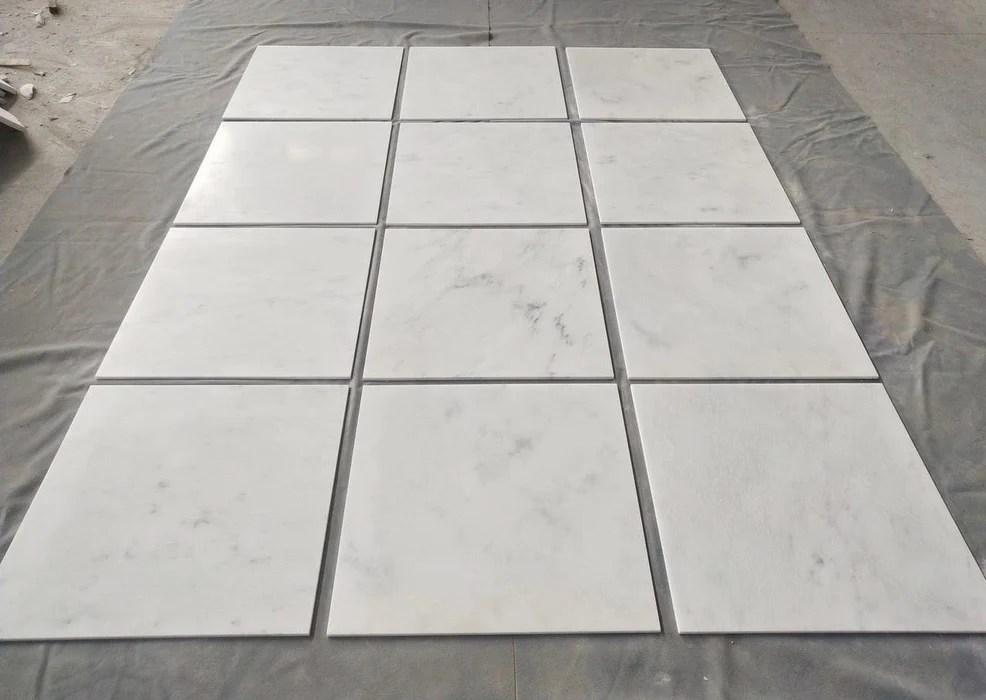 oriental white marble tile polished