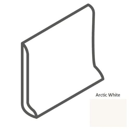 color wheel classic arctic white ceramic wall trim 6 x 6 sanitary cove base slim foot