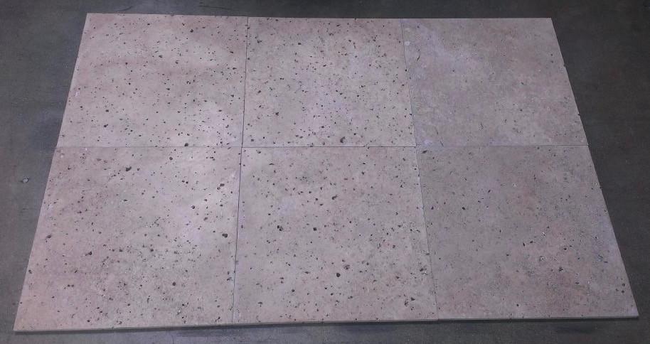 chocolate noche travertine tile honed