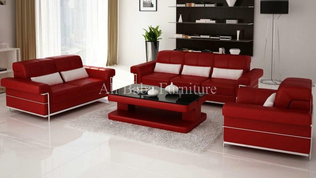 modern sofa set designs for living room with burgundy designer alibaba furniture