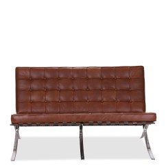 Barcelona Chair Style Couch Saarinen Tulip Cushion Replacement Sofa