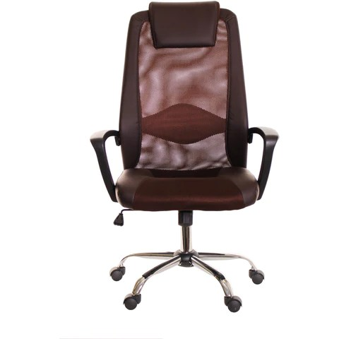 office chair armrest eames walnut lounge modern ergonomic grey white by timeoffice time brown mesh and leather task with headrest