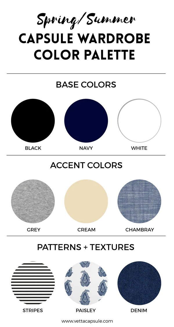 If you   like to see some examples of color palettes in action check out vetta  capsule wardrobes here also create  wardrobe palette rh vettacapsule