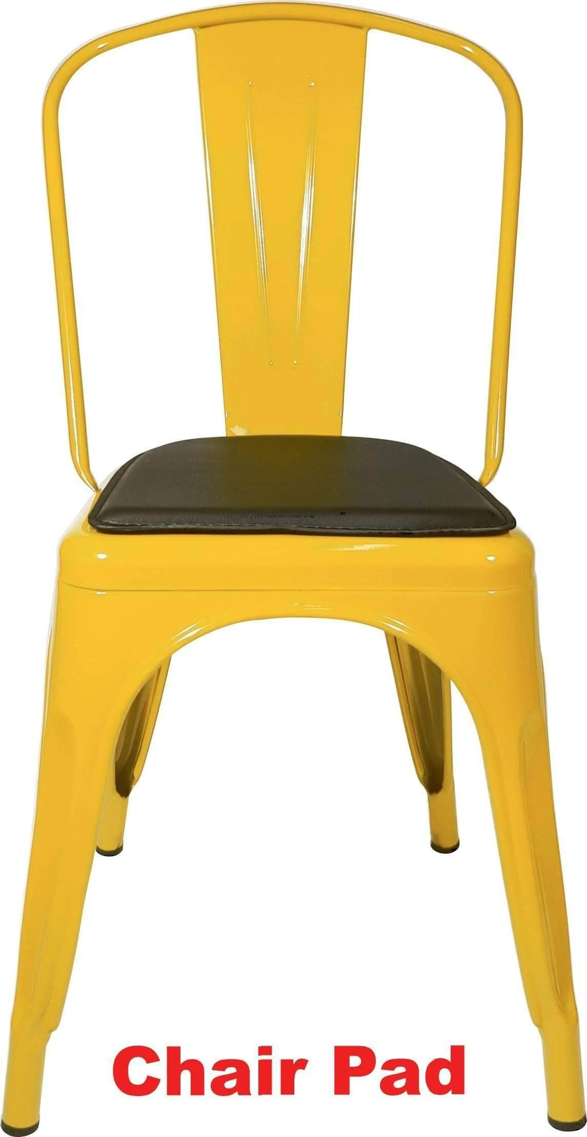 Tolix Replica Cafe Chair Yellow  Buy Online  AFTERPAY