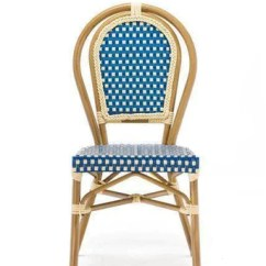 Blue Bistro Chairs Ergonomic Desk And Chair Set Up Paris Perth Phone 08 9478 6565 Directly2u Cafe Dining With Cream Frame