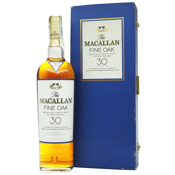 Macallan 30 Years Fine Oak - Discontinued Box   The Whisky Shop Singapore