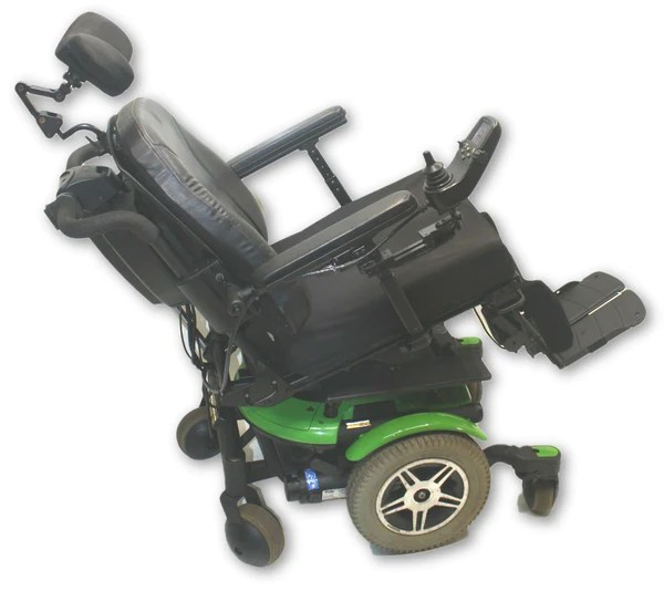 Quantum 600 Power Wheelchair  Tilt Recline  Legs  18