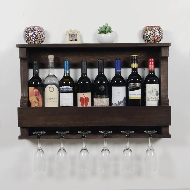 woodymood hangover wine rack glass holder wenge