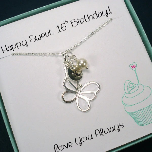 Personalized Sweet 16 Gift 16th Birthday Gift Daughter