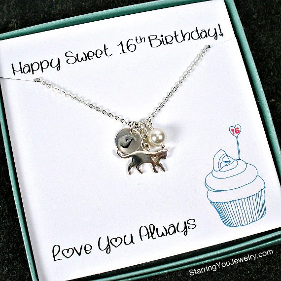 Sweet 16 Gift Ideas For Daughter Pet Lovers Jewelry