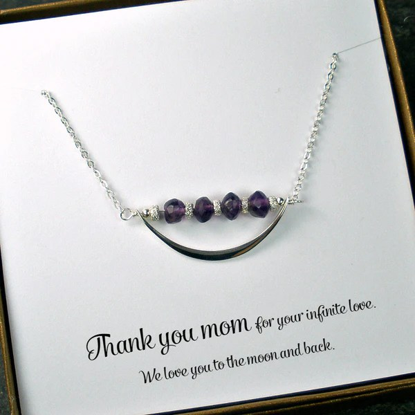 Mom Necklace Mother S Day Birthday Christmas Gift