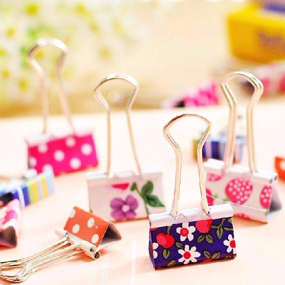 bookmarks paper clips kawaii