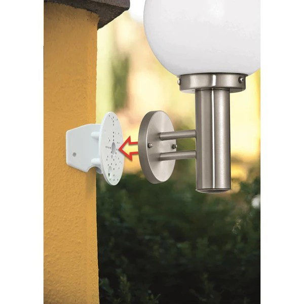 Eglo 88152 Corner Mounting Bracket For Outdoor Wall