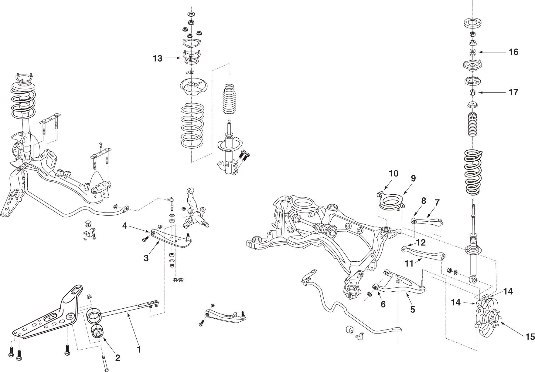 medium resolution of nismo rear lower link bush for laurel c33 cefiro a31 55157 rs580