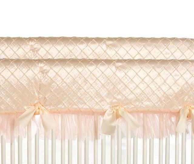Glenna Jean Crib Bedding Remember My Love Convertible Crib Rail Protector Short Set Of