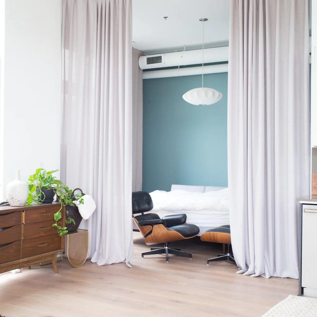 Canvas - Extra Long Curtains Warm Gray Custom Drapery Loft