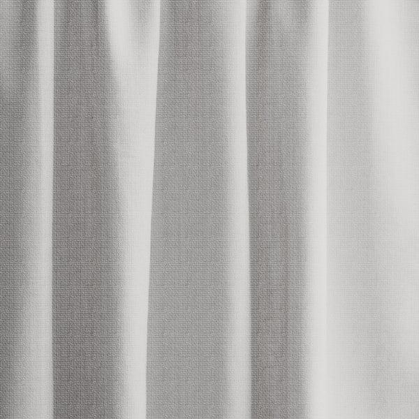 Extra long textured blackout curtain custom made length