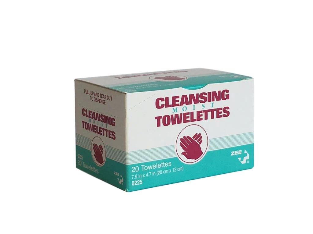 cleansing moist towelettes