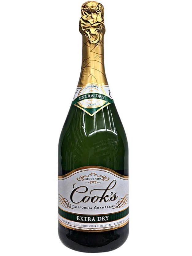 Cook39s Cellars California Champagne Extra Dry The Best