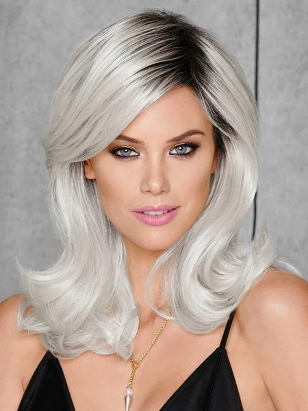 whiteout hairdo colored wig