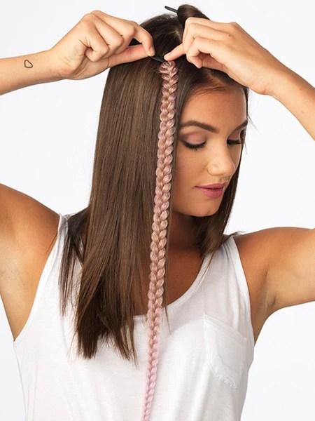 Metallic Braid Extension  Clip Ins  POP by Hairdo  Wigscom