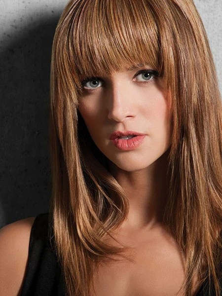 Modern Fringe Clip In Bang By Hairdo The