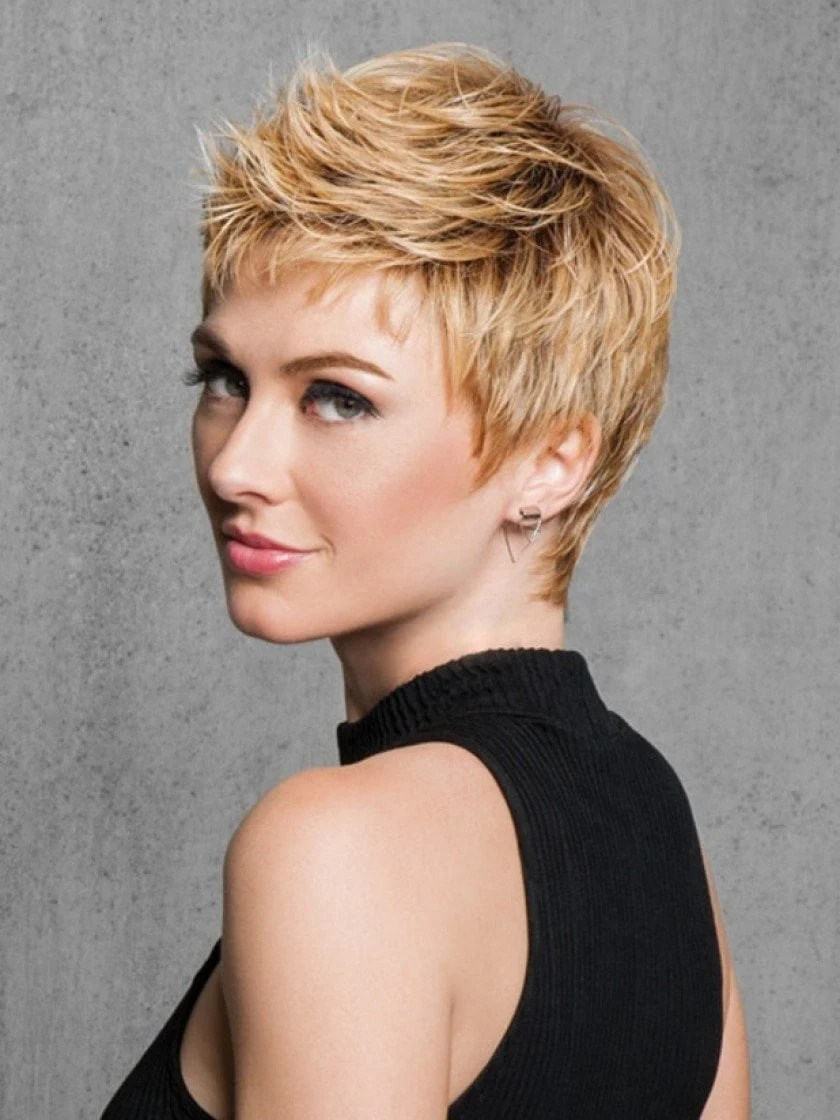 textured cut hairdo short