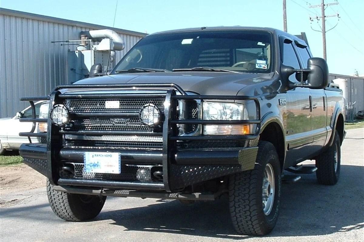 ranch hand fbf991blr legend ford f250 f350 f450 f550 superduty front bumper 1999 2004 [ 1200 x 797 Pixel ]