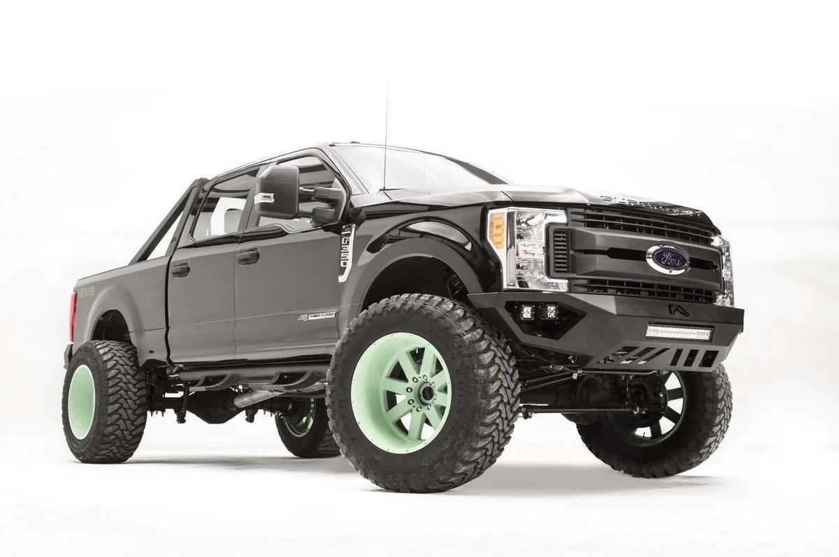 hight resolution of fab fours vengeance front bumper ford f250 f350 superduty fs17 v4151 1 2017