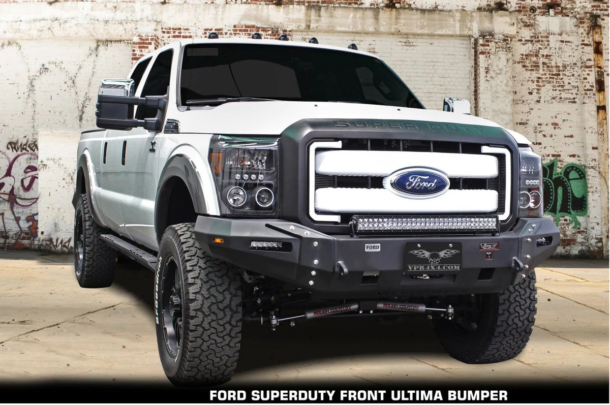 hight resolution of vpr 4x4 ultima truck front bumper ford f250 f350 superduty 2011 2012 vpr 114