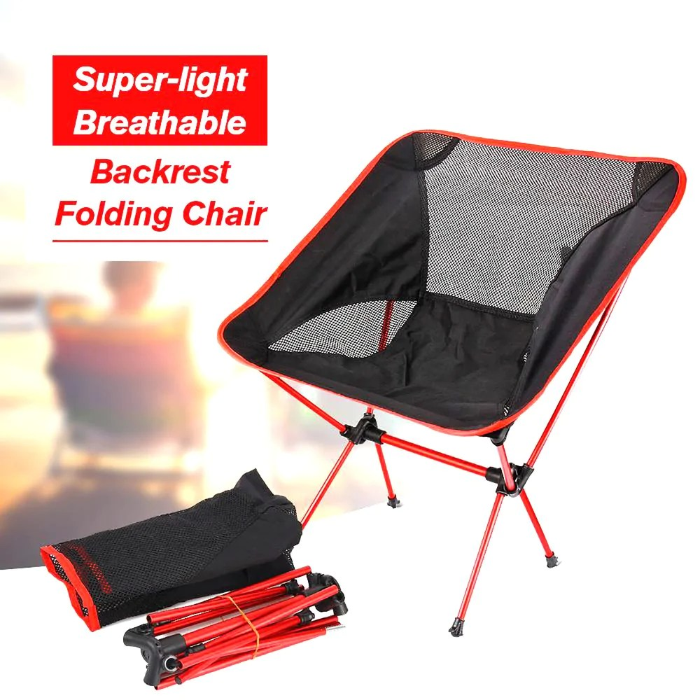 Beach Folding Chairs Folding Chair Portable Lightweight Casual For Beach Hiking Fishing Picnic Barbecue Vocation Camping