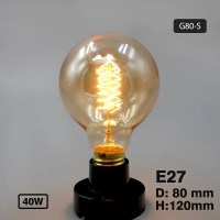 Edison Bulb Incandescent Lamp E27 220v Wedding Vintage ...