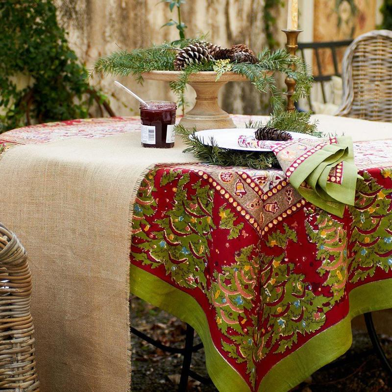 what size tablecloth or table runner do