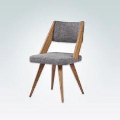 Chair Design Restaurant Double Adirondack Chairs With Umbrella Dining Lugo Fiji Grey Fabric Scandinavian Geometric 3004 Rc1