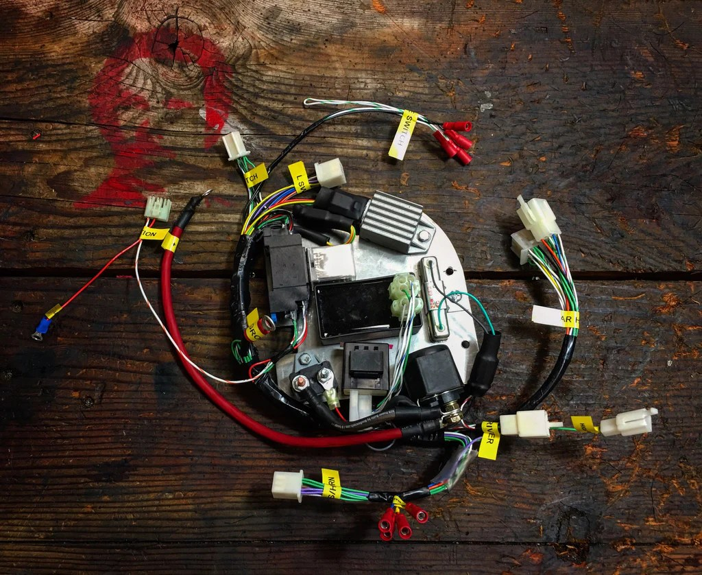 medium resolution of rucku gy6 wiring harnes