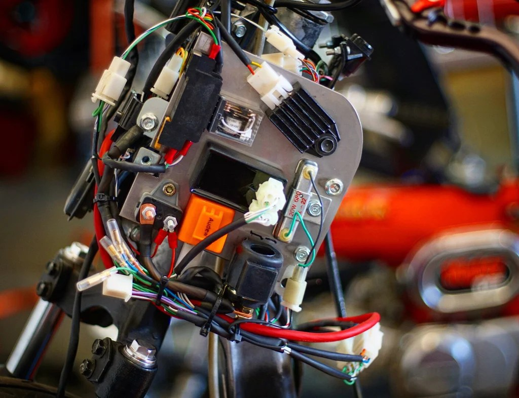 small resolution of honda ruckus gy6 complete wiring harness